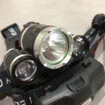 夜の停電にはヘッドライトを装着するととても便利